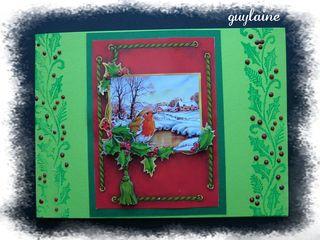 Trop jolie carte  de guylaine
