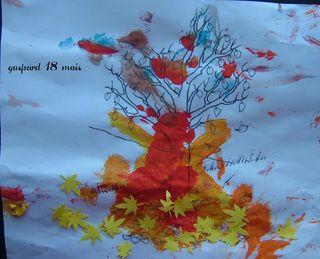 Les feuilles sont tombées  par gaspard