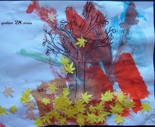 Les feuilles sont tombées par Gaétan