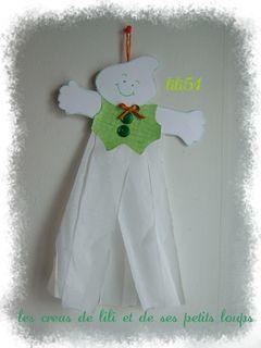 fantôme en habit de fête de lili51