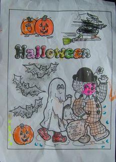 Coloroage halloween chloe