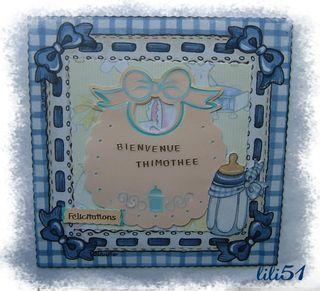 Carte felicitations pour sandrine 87