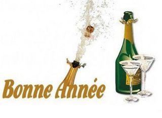 de ma champagne  natal ses bulles pour vous presenter mes voeux