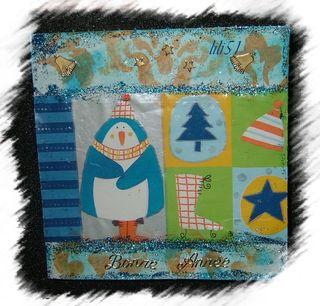Carte de vœux pour guylaine