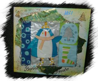 Carte de vœux pour letina