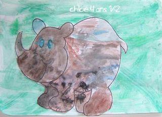 Le rhinoceros de chloe