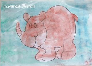 Le rhinoceros de maxence