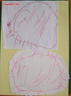 Les dessins herissons de capucine