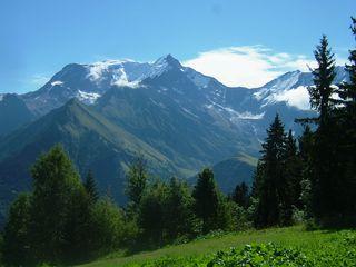 paysage  de mes vacances le Mt blanc
