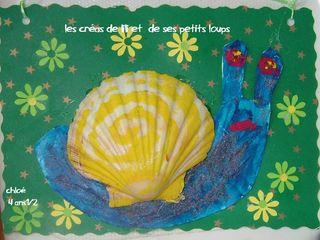 Coquille St Jacques escargot par chloé