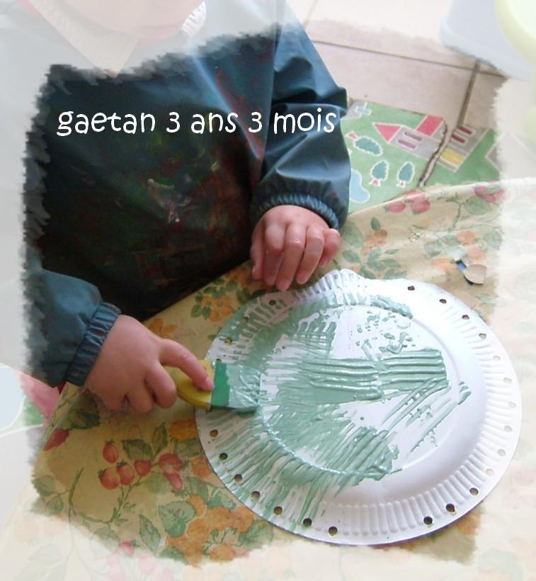 Gaetan peind son herisson