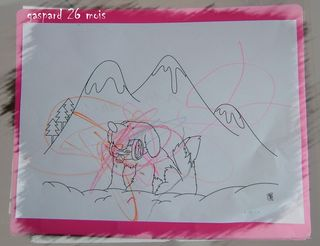 Le chien des montagnes de gaspard
