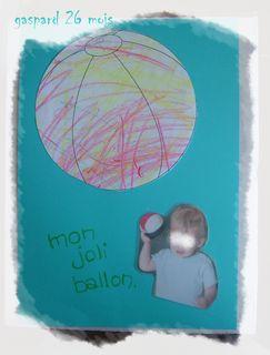 Le joli ballon de gaspard