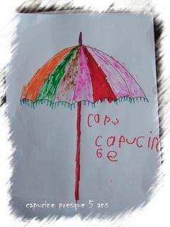 Parasol capucine