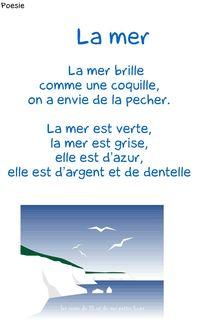 Poesie la mer