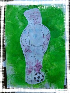 Footballeur gaetan
