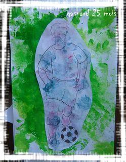 Le footballeur gaspard