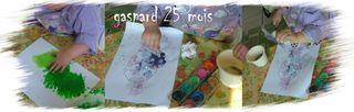 Gaspard peind son footballeur