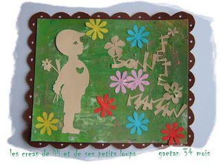 La carte pour maman de gaetan