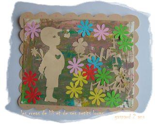 La carte pour maman de gaspard