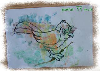 Mon petit oiseau de gaetan