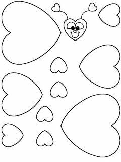 Cœur  papillon