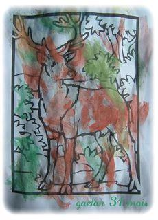 Un grand cerf par gaetan