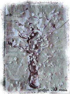 L'arbre en hiver  fait par gaetan