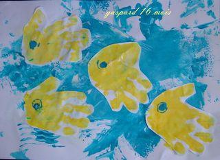 Gaspard en jaune et bleu