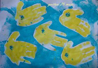 Gaetan en jaune et bleue