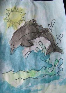 Gentil dauphin de capucine