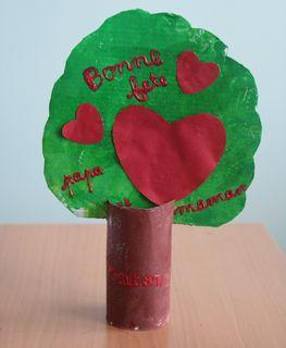 L'arbre cœur de Gaétan face