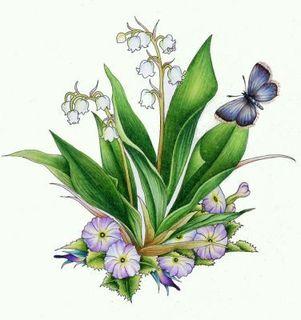 image  bouquet muguet