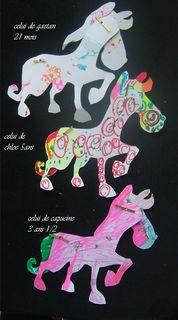 Le cheval huedada