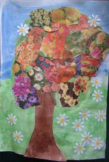 L'arbre en fleur de chloe