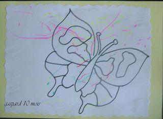 Le papillon de gaspard