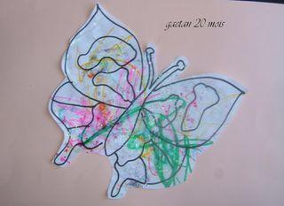 Le papillon de gaetan