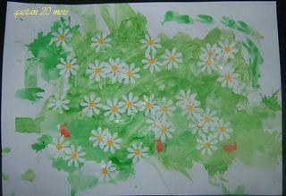 Mon tableau c'est le printemps