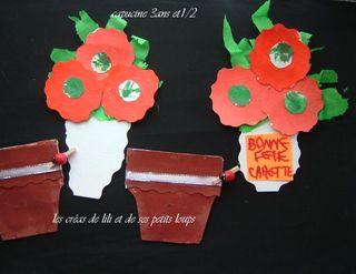 Pour les mamies de capucine pot et fleurs separes