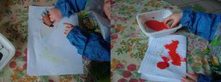 réalisation du  masque coccinelle de gaetan