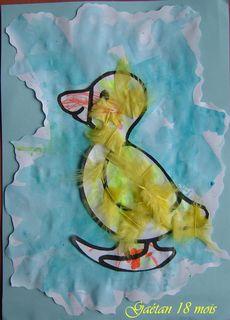 le petit  canard de Gaétan