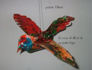 L'oiseau de mobile de gaetan 1