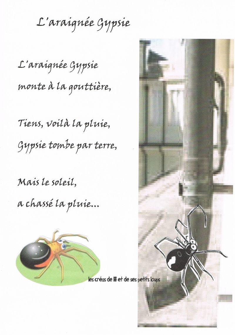 L'araignee gypsie de gaspard