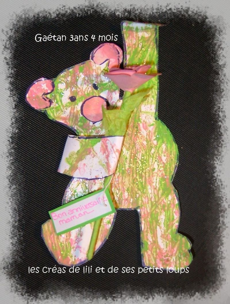 Le nounours agile de gaetan
