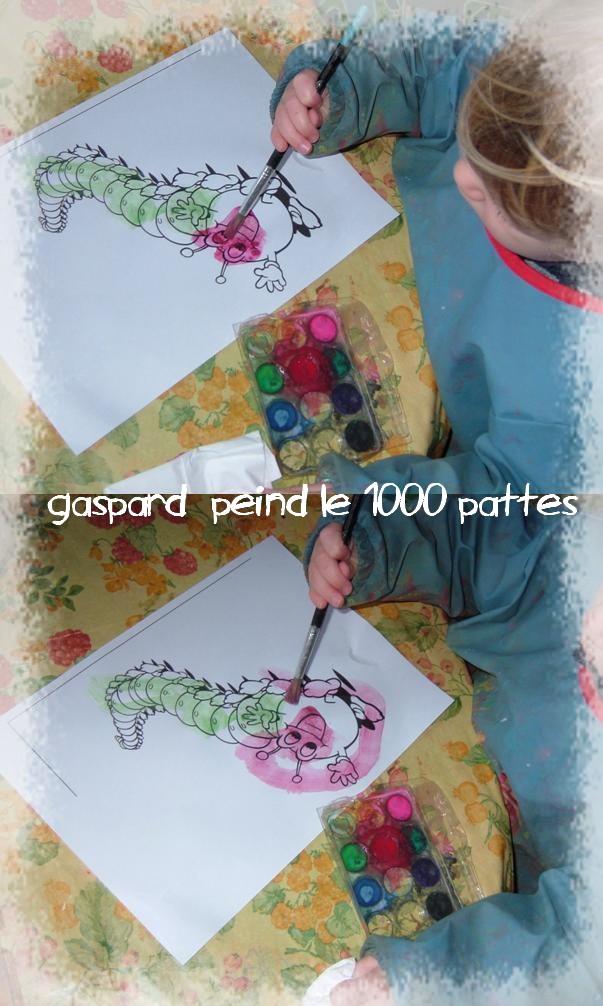 Le 1000 pattes de gaspard