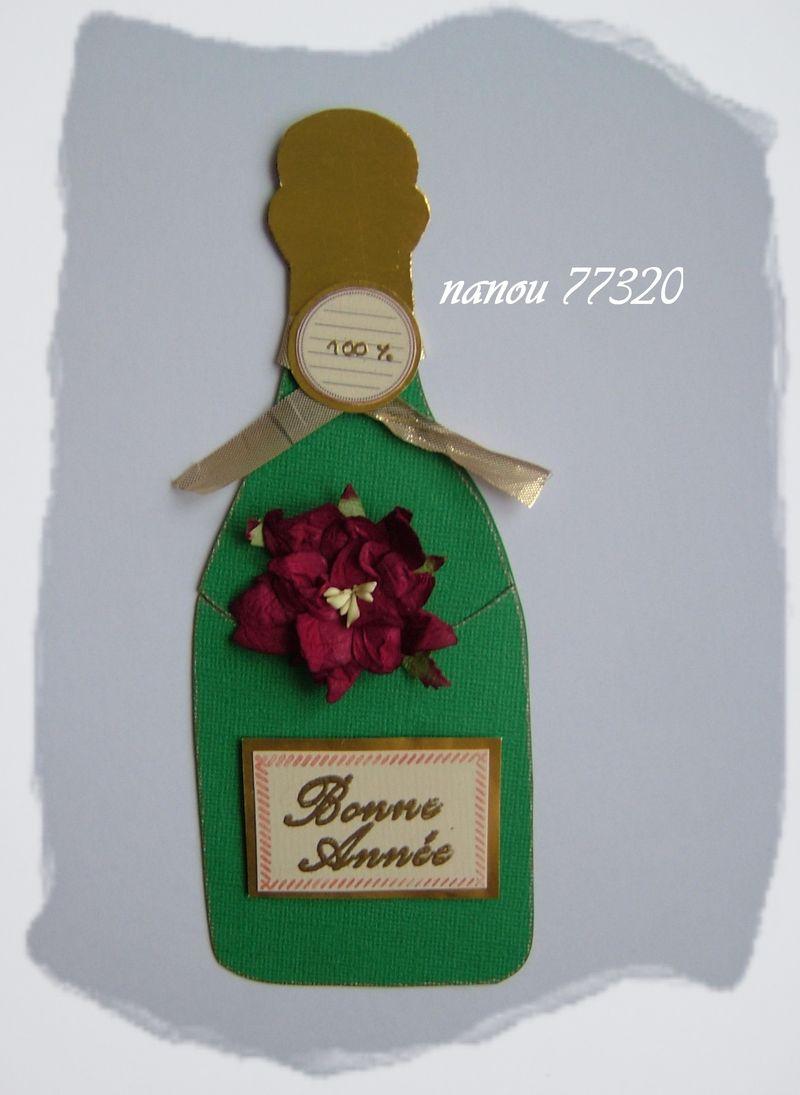 La bouteille de voeux de nanou