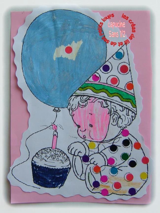 Premier anniversaire capucine