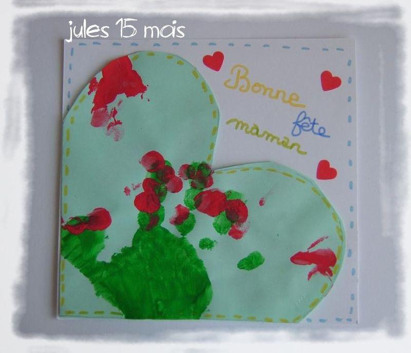 Carte coeur jules