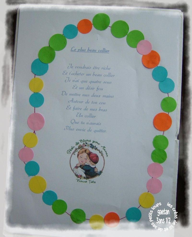Poeme collier gaetan