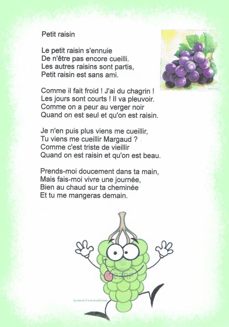 Le petit raisin